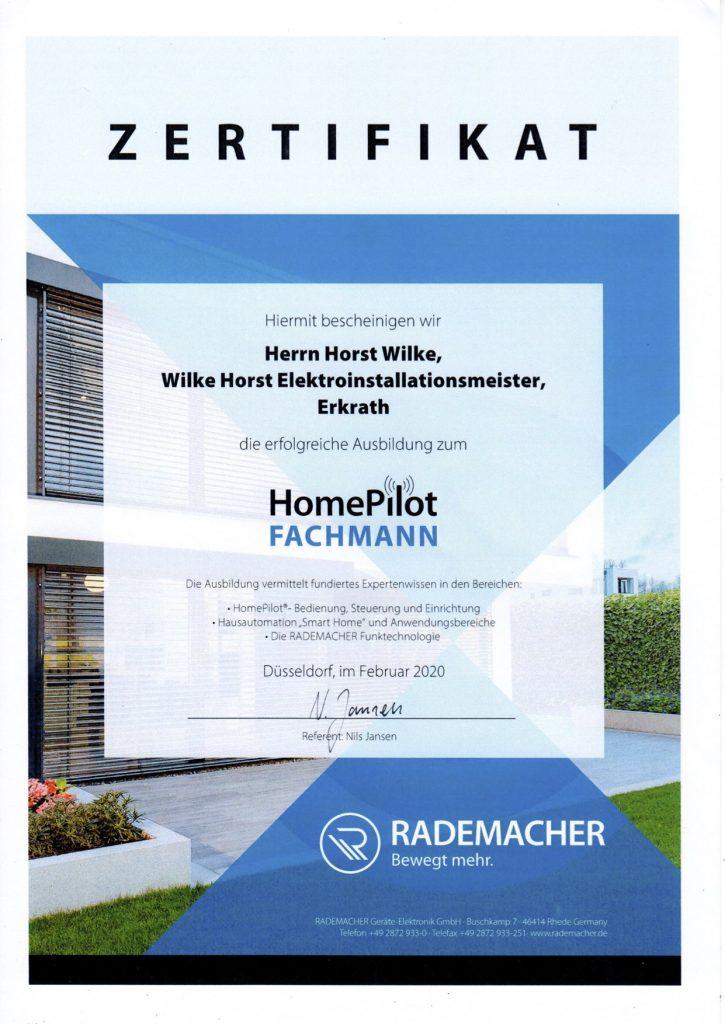 HomePilot Fachmann von Rademacher - Smart Home Systeme